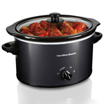 HAMILTON BEACH<sup>®</sup> 3Qt Slow Cooker